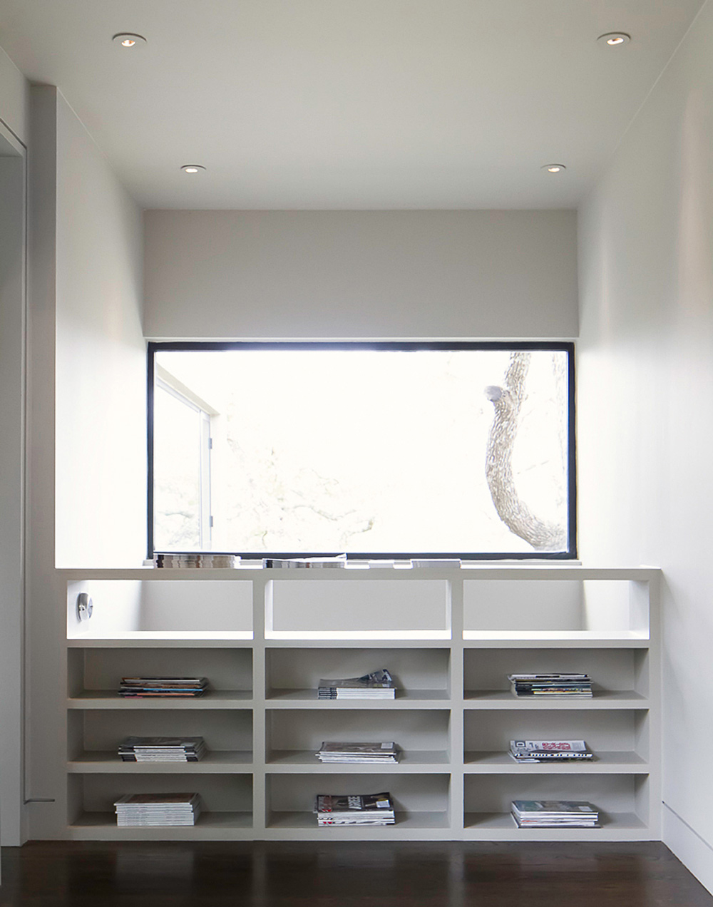 Shelves, Contemporary Renovation in West Lake Hills, Texas