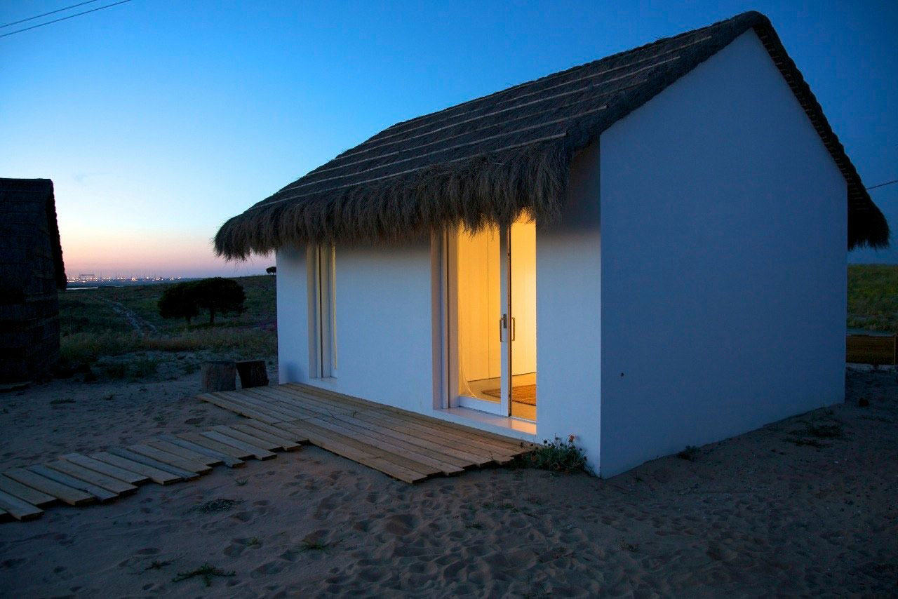 Evening Lighting, Peaceful Retreat in Comporta, Portugal
