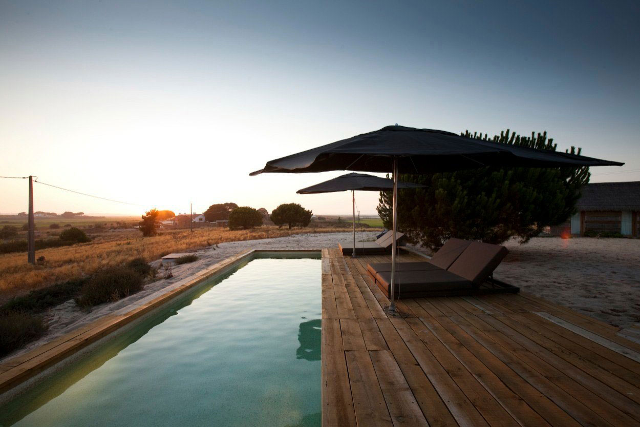 Outdoor Pool, Wood Decking, Peaceful Retreat in Comporta, Portugal