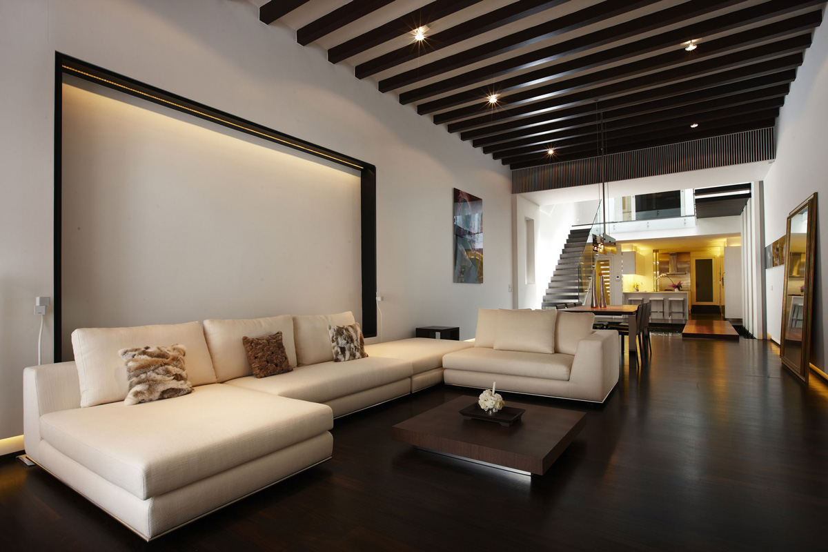 Home Living Shop sofa coffee table open plan living shop house renovation in singapore