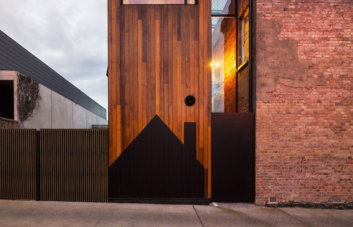 Architecture, Two-Home Extension Within a Single Building in Richmond, Australia