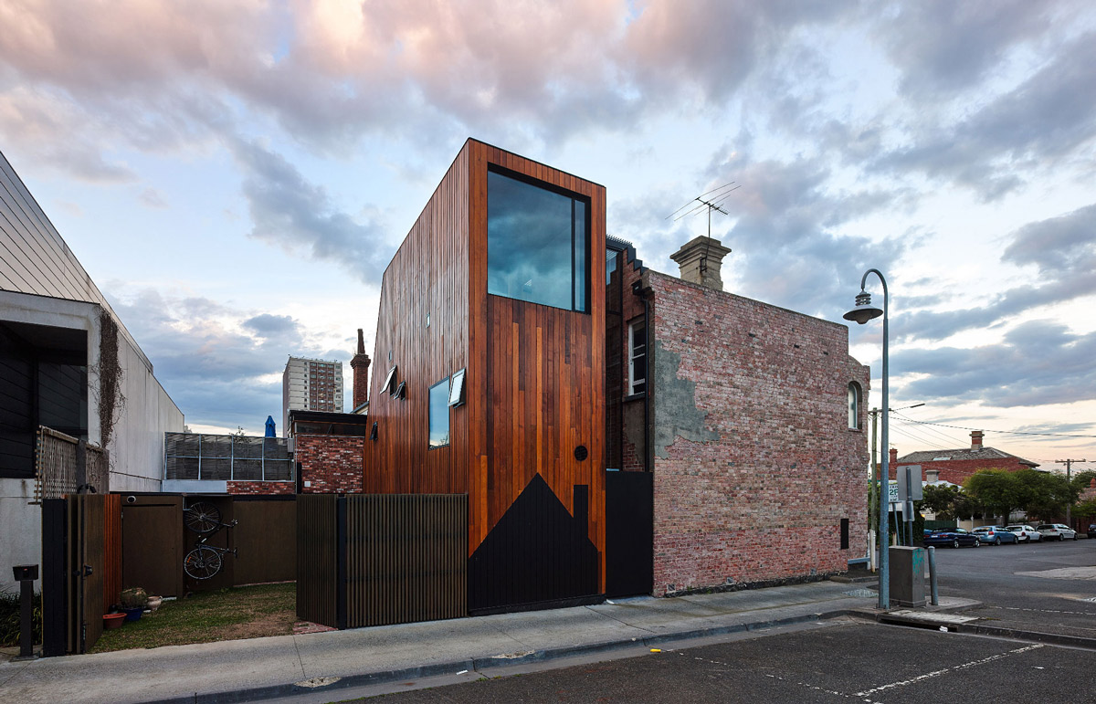Street View, Two-Home Extension Within a Single Building in Richmond, Australia