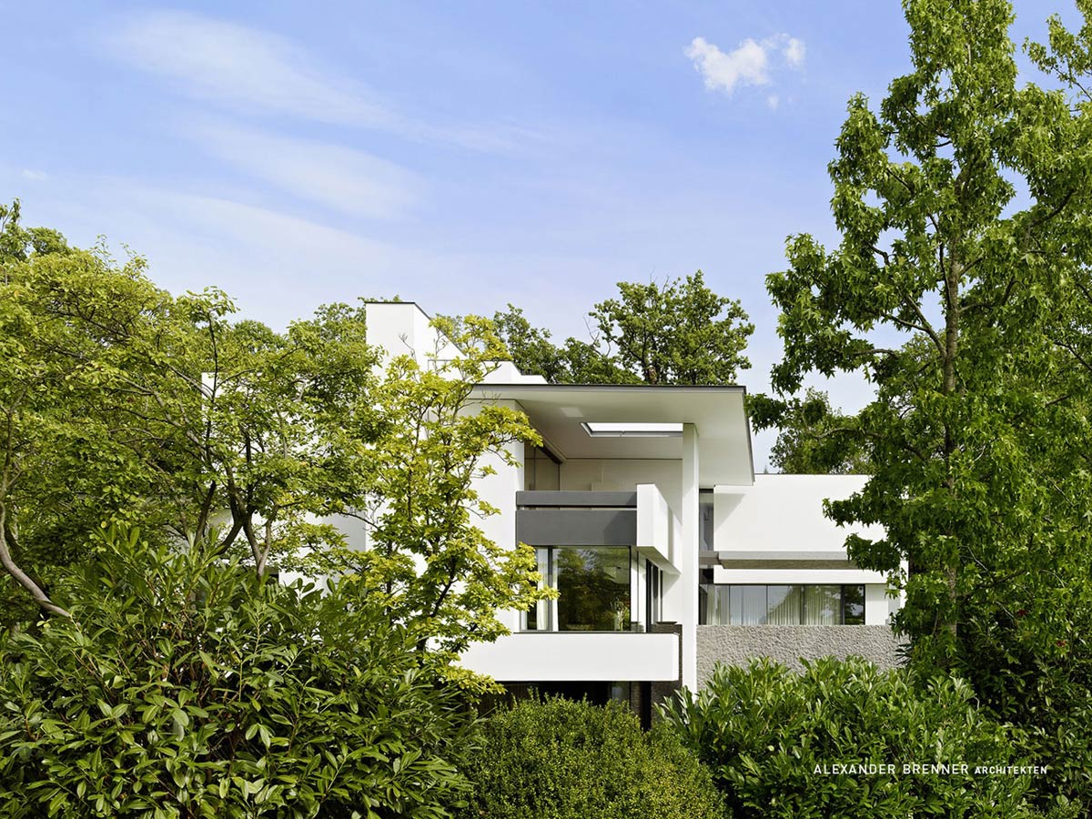 Trees, Elegant Villa in Stuttgart, Germany