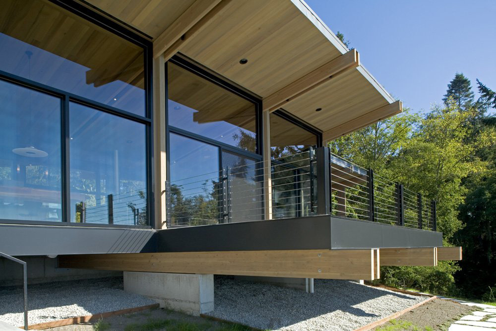 Large Glass Walls, Whidbey Island Cabin with Exceptional Views