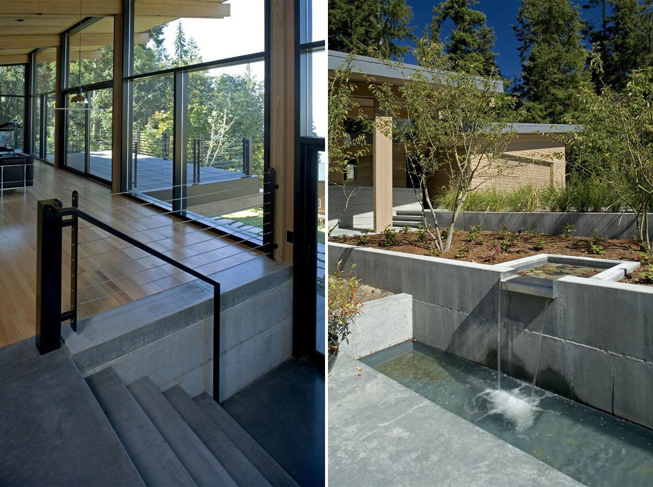 Steps, Waterfall, Water Feature, Whidbey Island Cabin with Exceptional Views