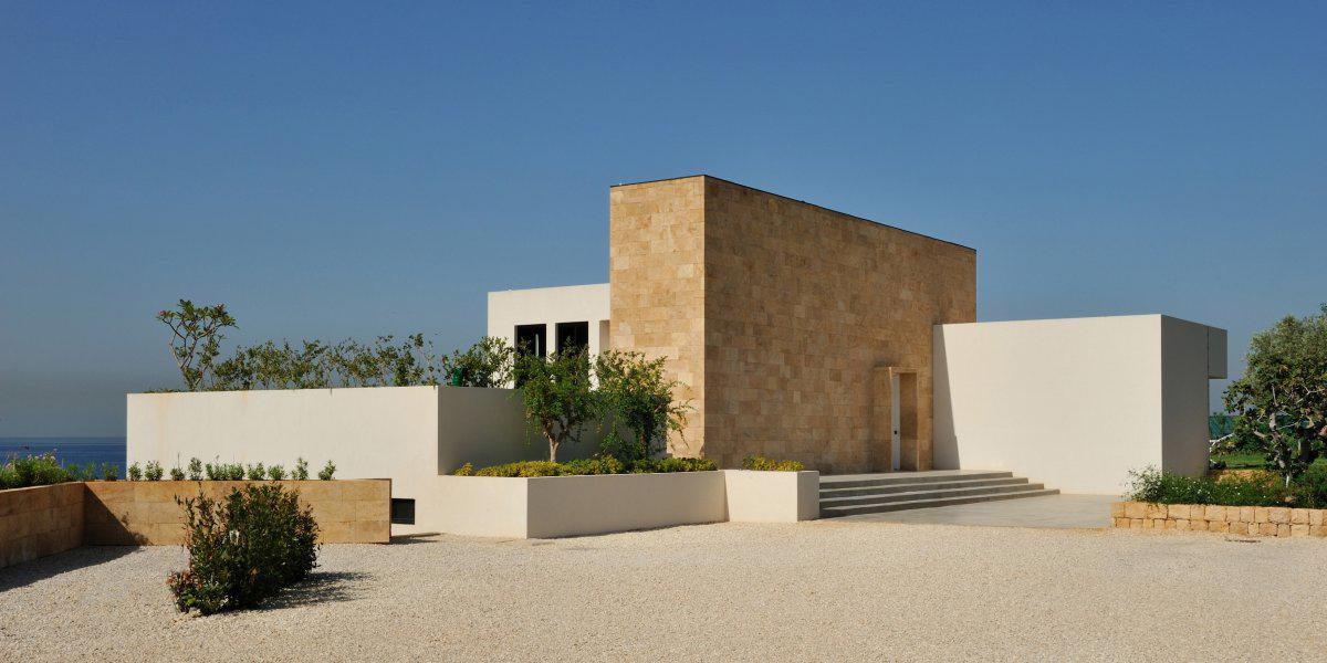 Entrance, Striking Oceanfront House in Jbeil, Lebanon