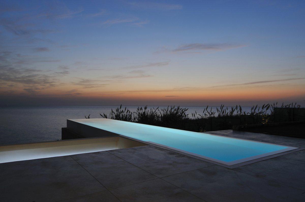 Modern Pool, Sea Views, Striking Oceanfront House in Jbeil, Lebanon