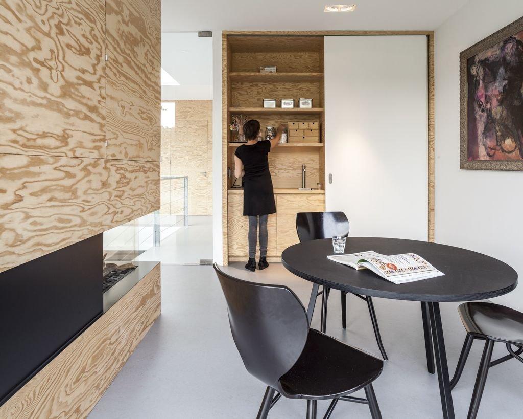 Dark Table, Energy Efficient Home in Bloemendaal, The Netherlands
