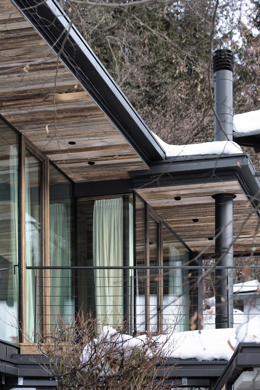 Chimney, Modern Home in the Mountains, Kitzbühel, Austria