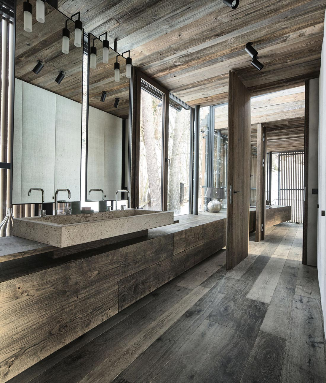 Bathroom, Modern Home in the Mountains, Kitzbühel, Austria