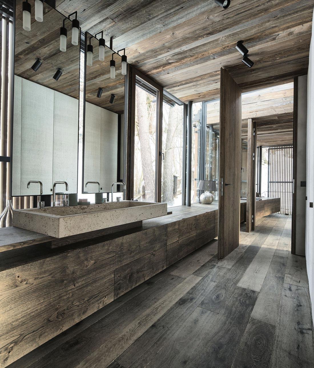 Bathroom, Modern Home in the Mountains, Kitzbühel, Austria