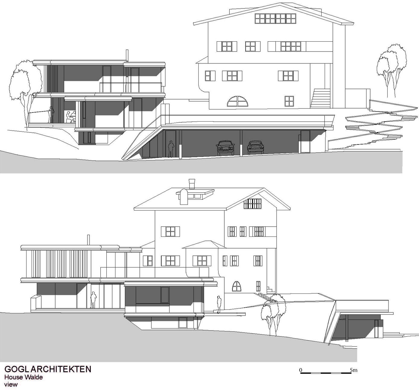 Elevations, Modern Home in the Mountains, Kitzbühel, Austria