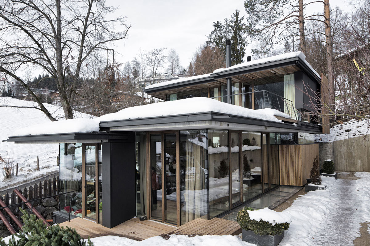 Patio Doors, Modern Home in the Mountains, Kitzbühel, Austria