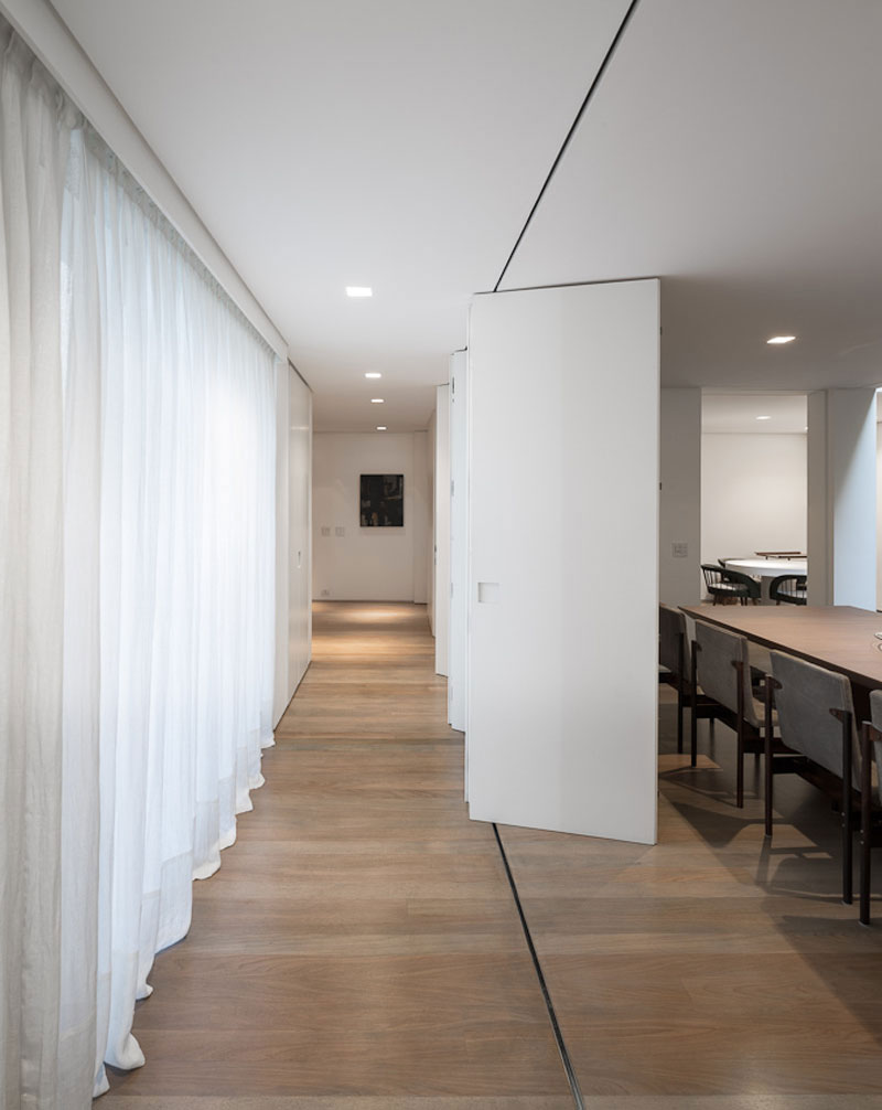 Dining Table, Sophisticated Family Home in São Paulo, Brazil