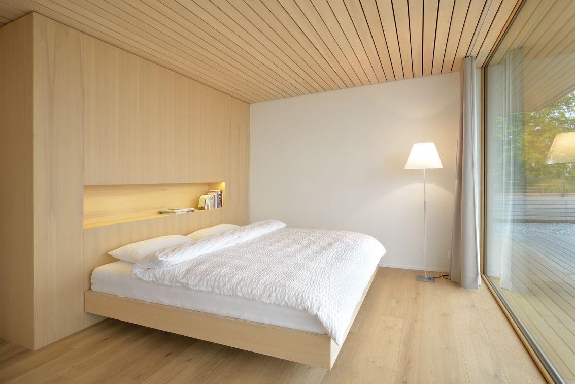 Bedroom, Hillside Home in Weinfelden, Switzerland