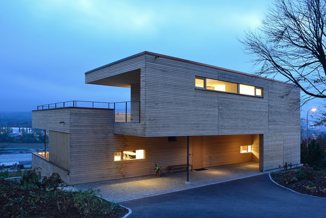 Hillside Home in Weinfelden, Switzerland
