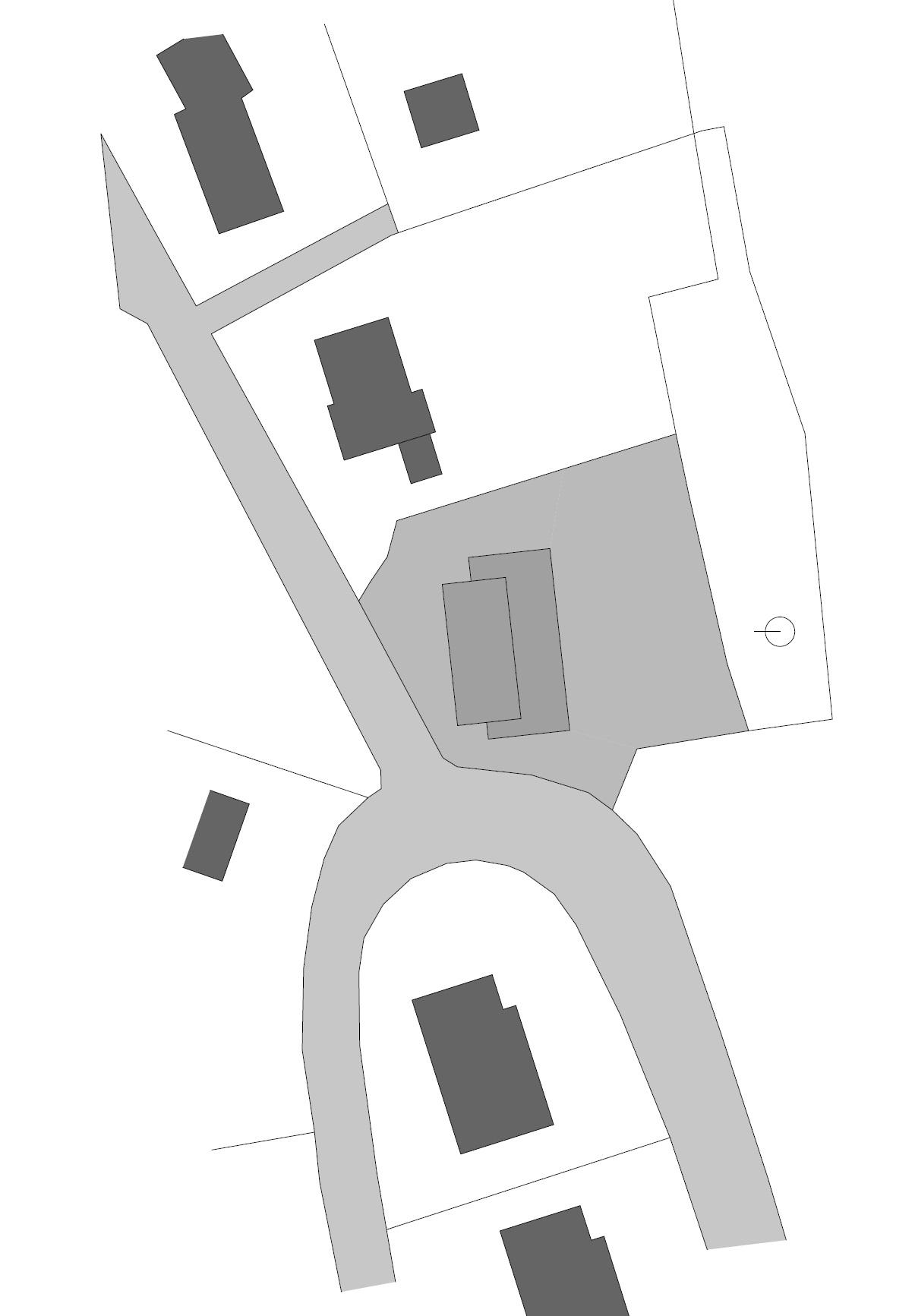 Site Plan, Hillside Home in Weinfelden, Switzerland