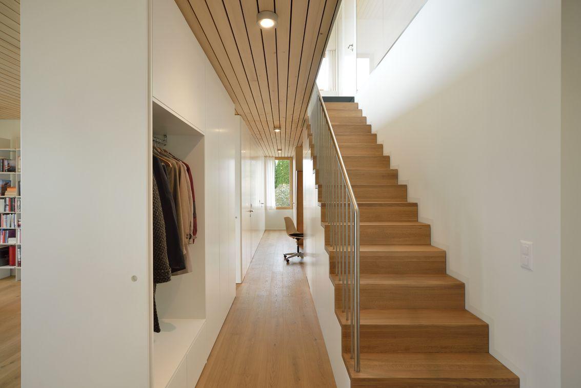 Staircase, Hillside Home in Weinfelden, Switzerland