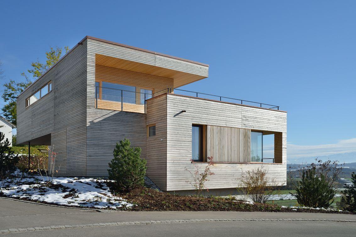 Street View, Hillside Home in Weinfelden, Switzerland