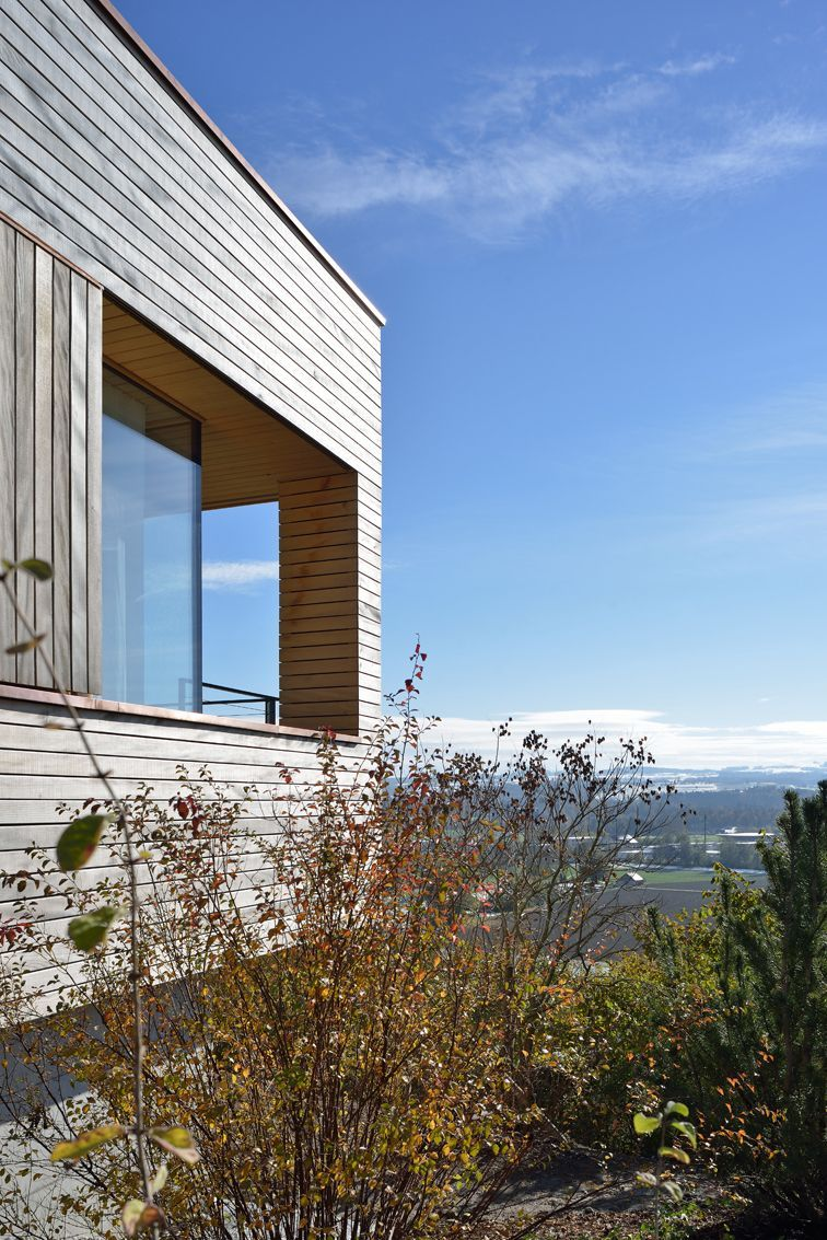 Views, Hillside Home in Weinfelden, Switzerland