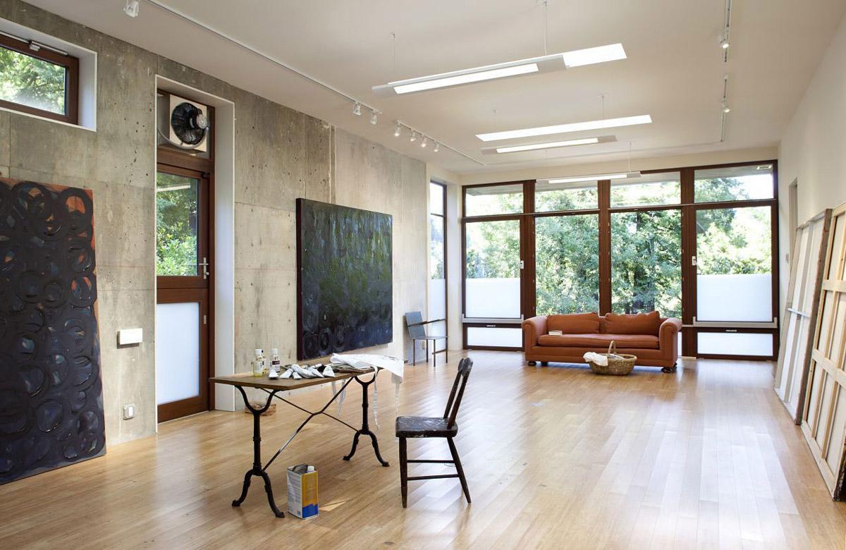 Art Studio, Impressive House in Marin, California