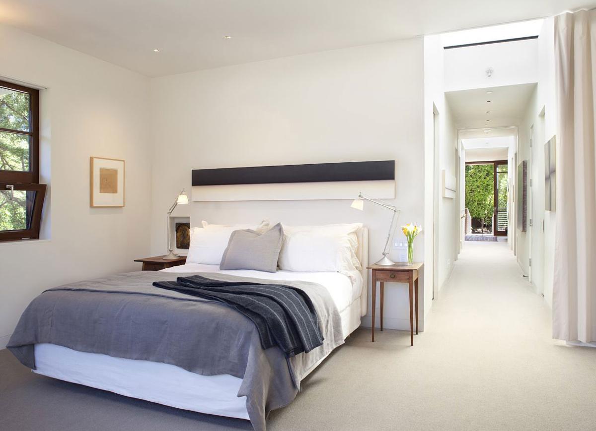Bedroom, Impressive House in Marin, California