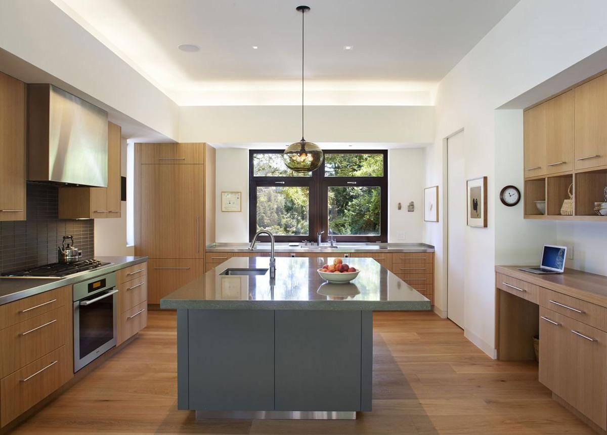 Modern Kitchen, Impressive House in Marin, California