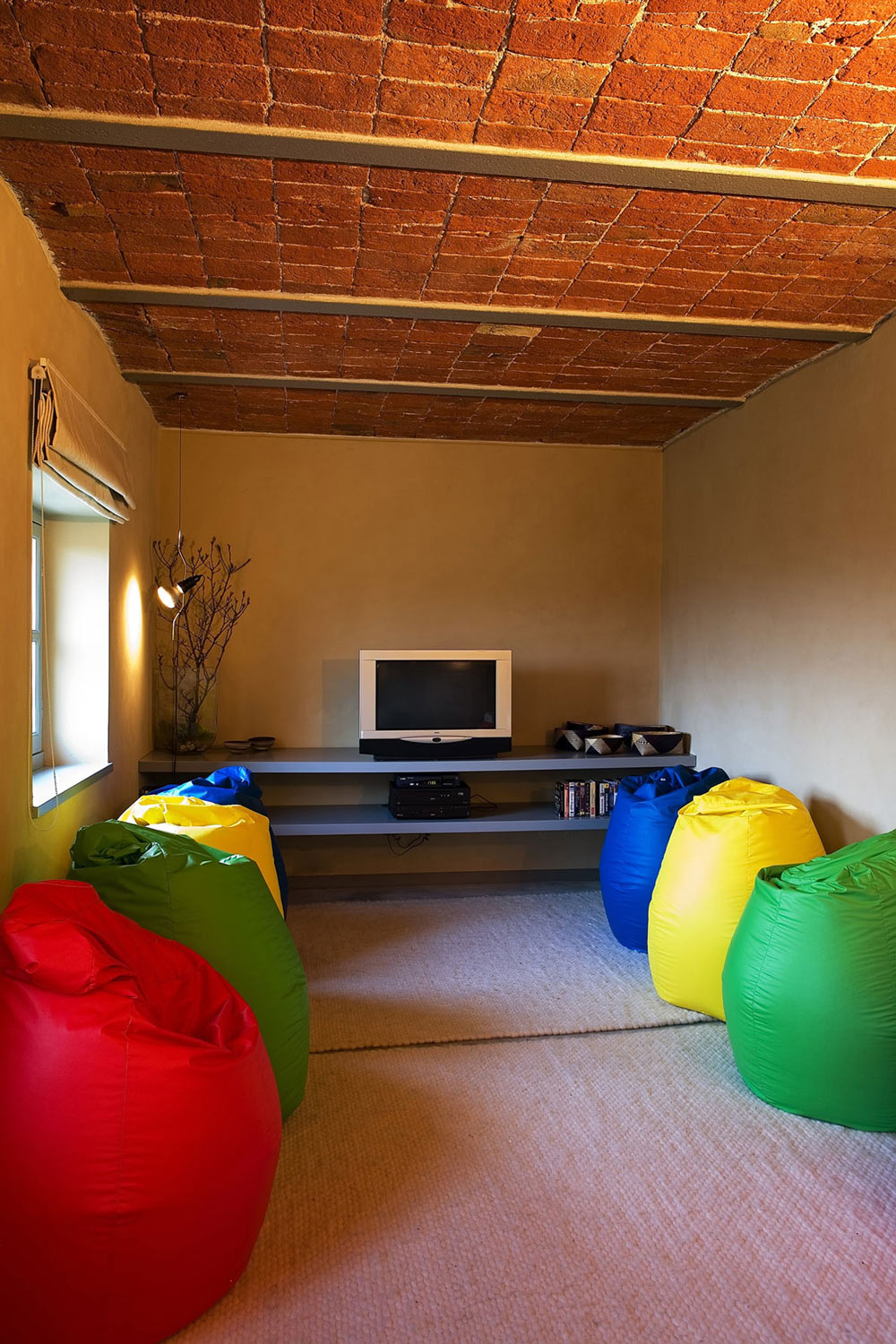 Living Room, Rustic Farmhouse in Rosignano Monferrato, Italy