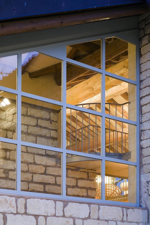 Window, Rustic Farmhouse in Rosignano Monferrato, Italy