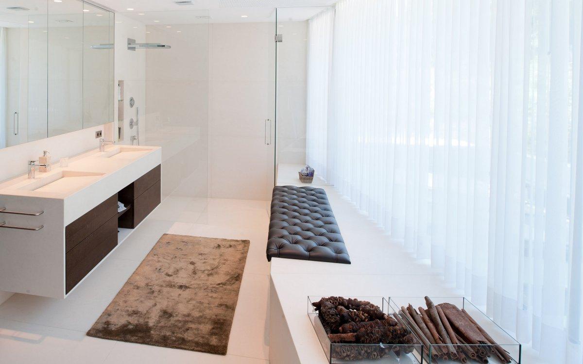 Bathroom, Glass Shower, KS House in Stein, Austria