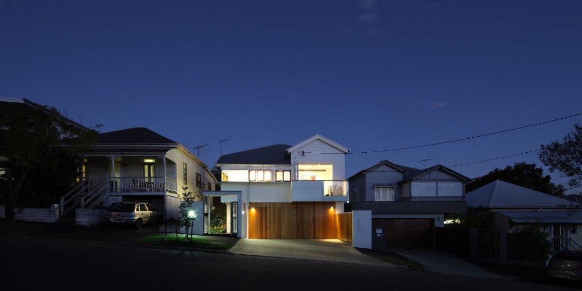 Garage, Contemporary Family Home in Queensland, Australia
