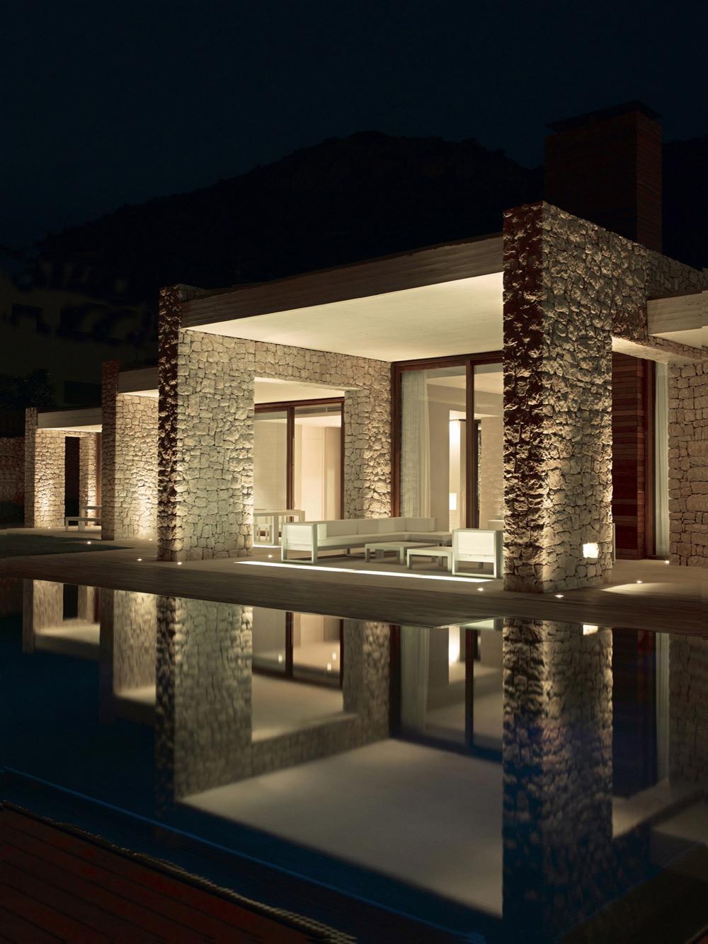 Balcony, Outdoor Furniture, Contemporary Home in Monasterios, Spain