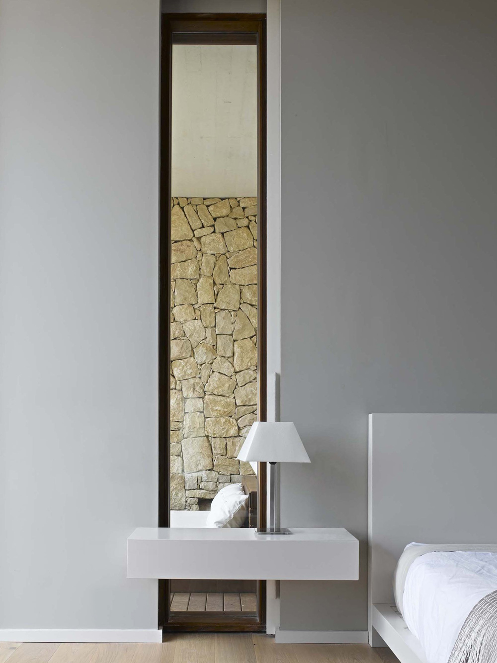 Tall Mirror, Bedroom, Contemporary Home in Monasterios, Spain