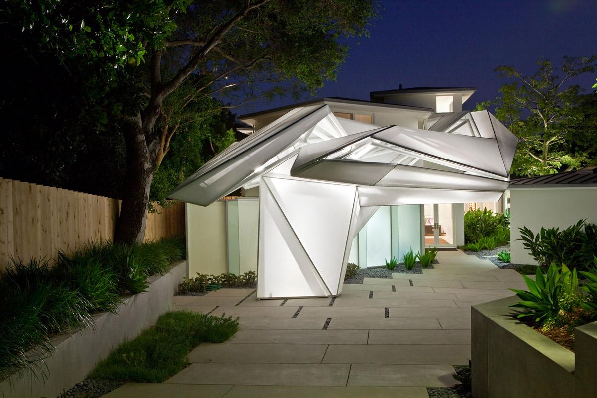 Entrance, Lighting, Elegant Modern Interior in Southern California