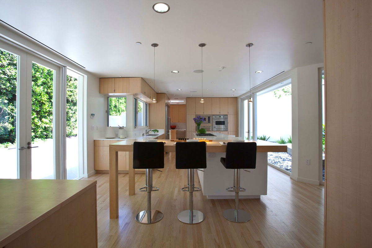 Kitchen elegant modern interior in southern california