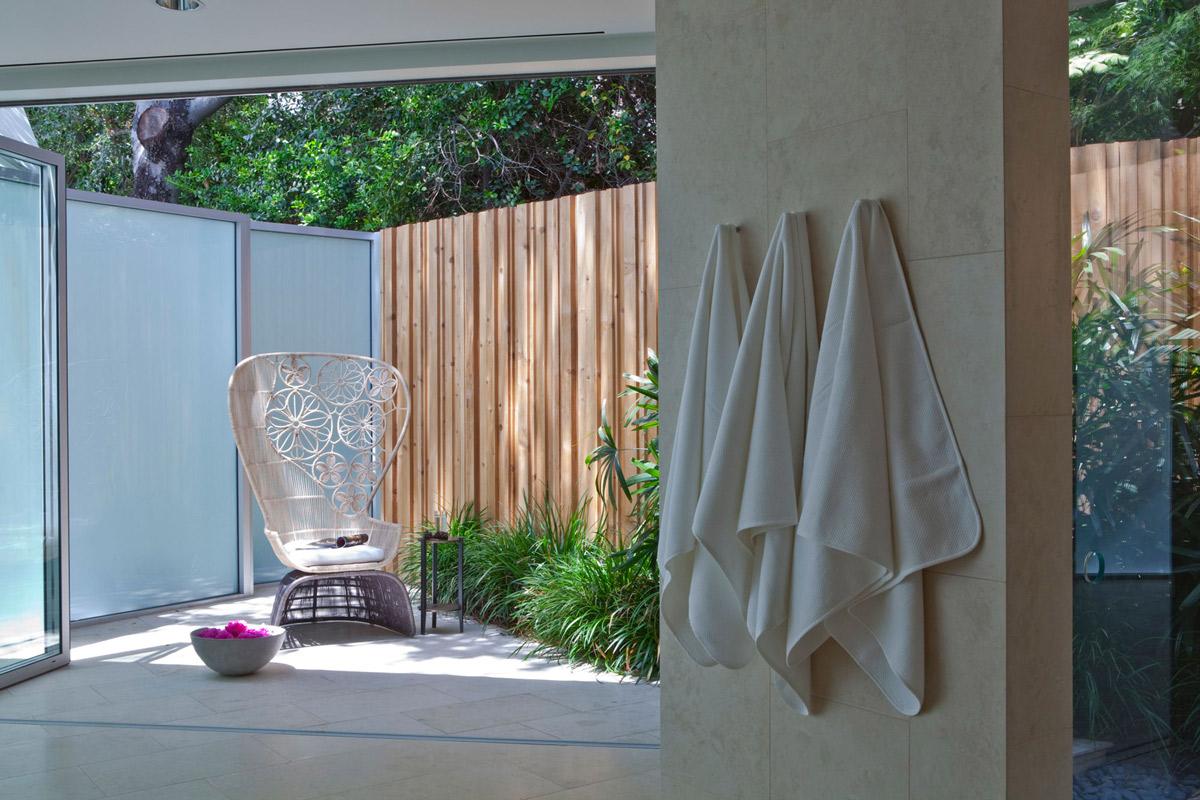 Terrace, Elegant Modern Interior in Southern California