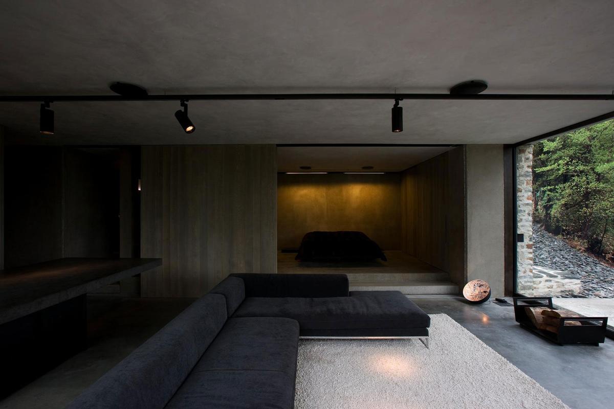 Living Room, Bedroom, Open Plan, Mountain Retreat in Closeburn Station, New Zealand