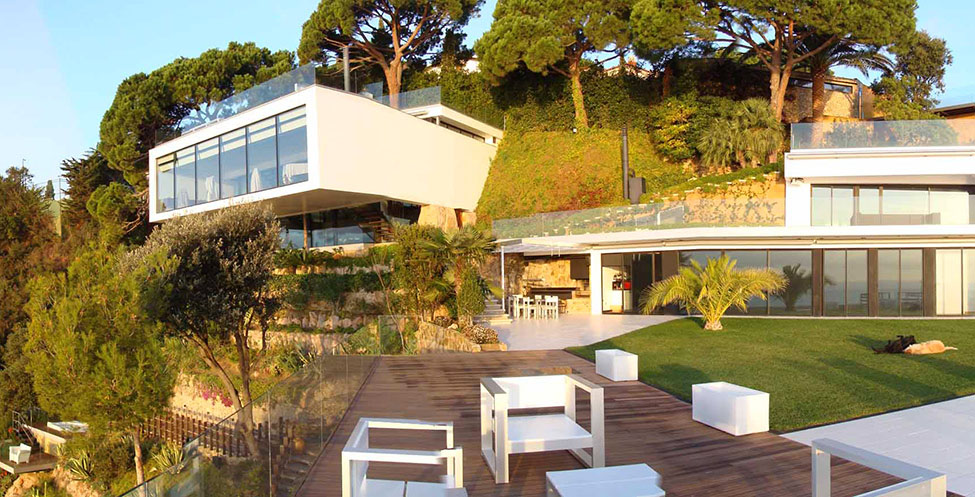 Deck, Outdoor Living, Spectacular Oceanfront Home in Tossa De Mar, Spain