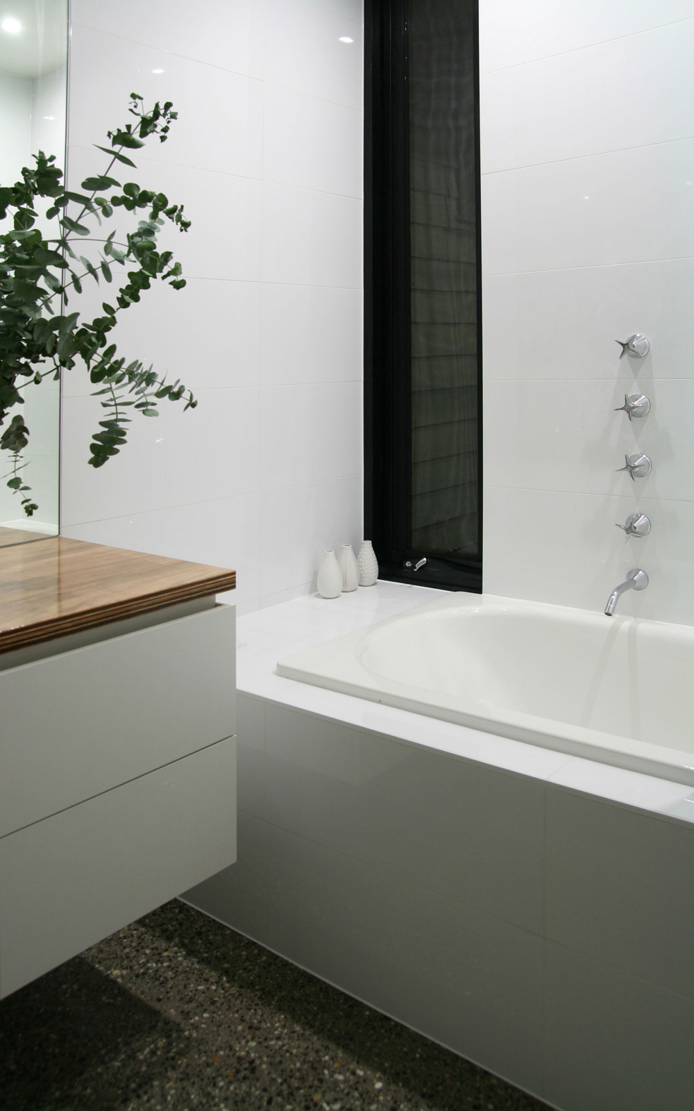 Bathroom, Modern Renovation in Fitzroy North, Australia