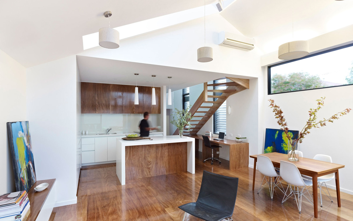 Modern Renovation in Fitzroy North, Australia