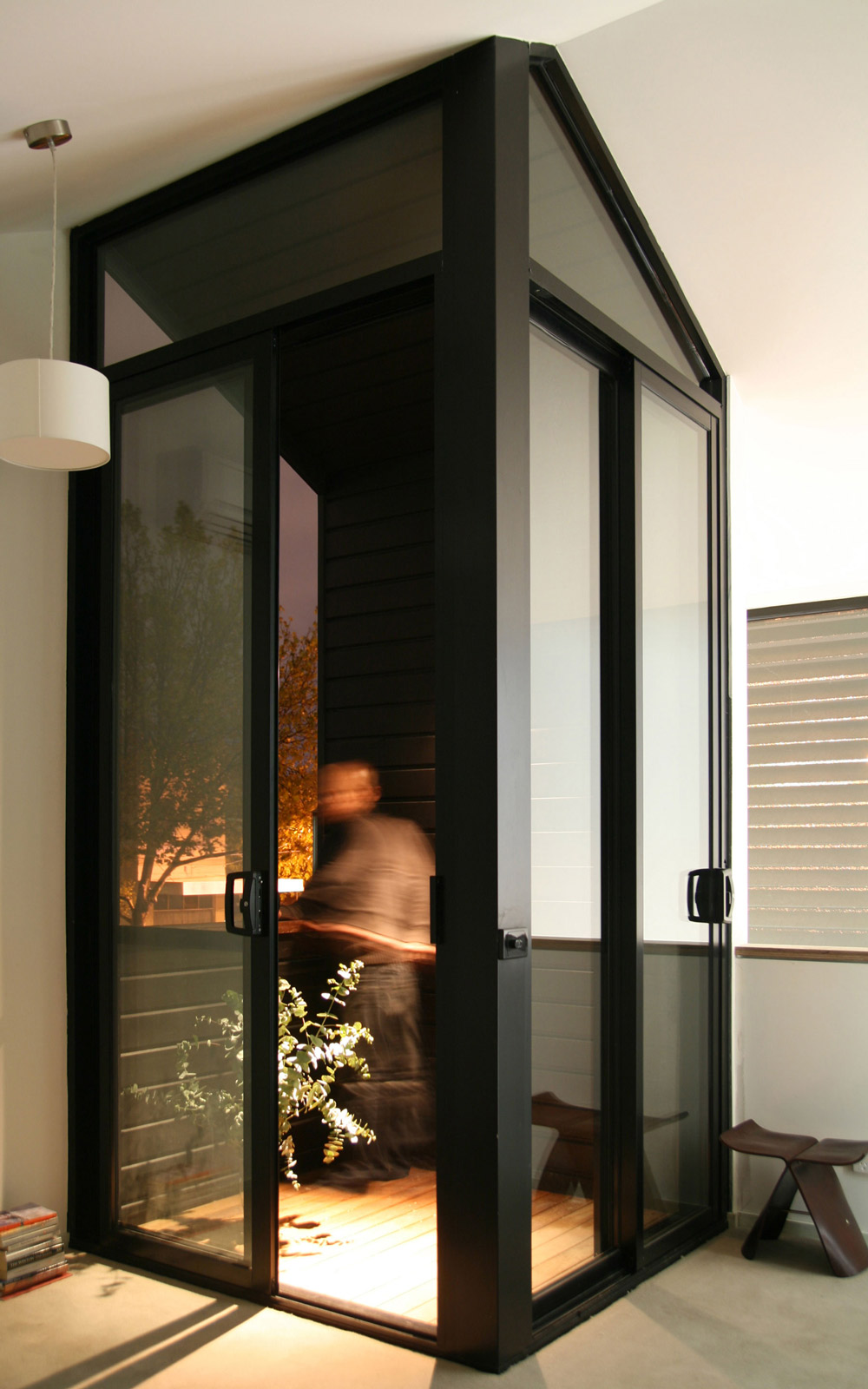 Entrance, Patio Doors, Modern Renovation in Fitzroy North, Australia