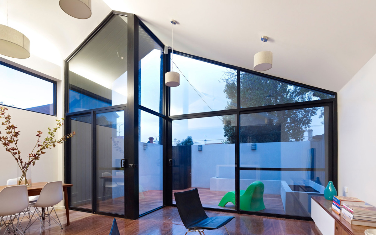 Living Space, High Ceilings, Modern Renovation in Fitzroy North, Australia