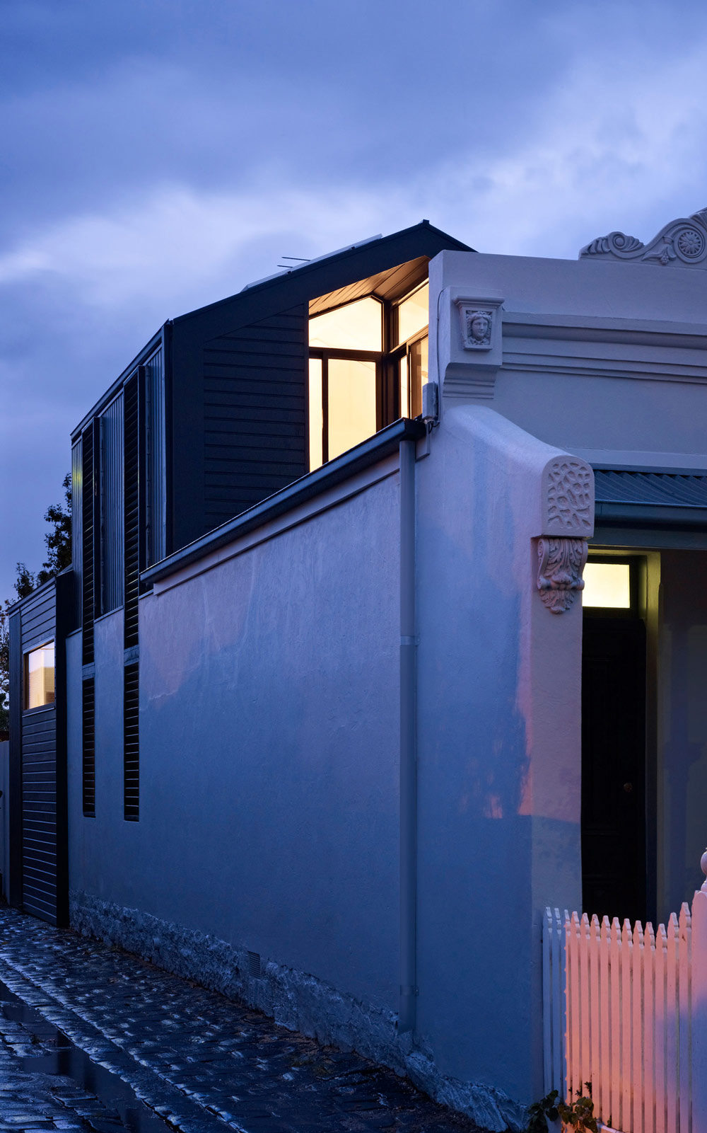 Street View, Modern Renovation in Fitzroy North, Australia