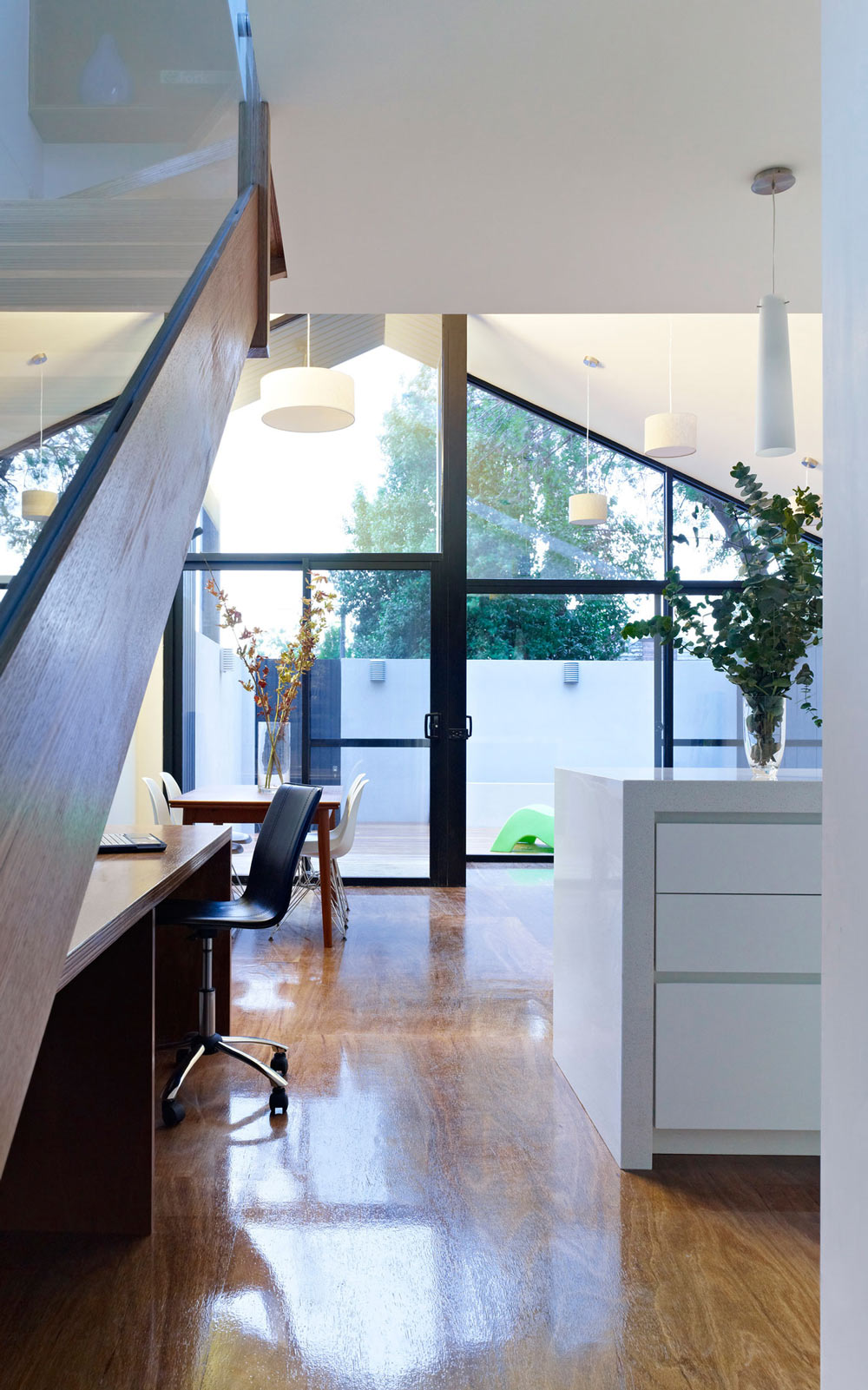 Wood Flooring, Modern Renovation in Fitzroy North, Australia