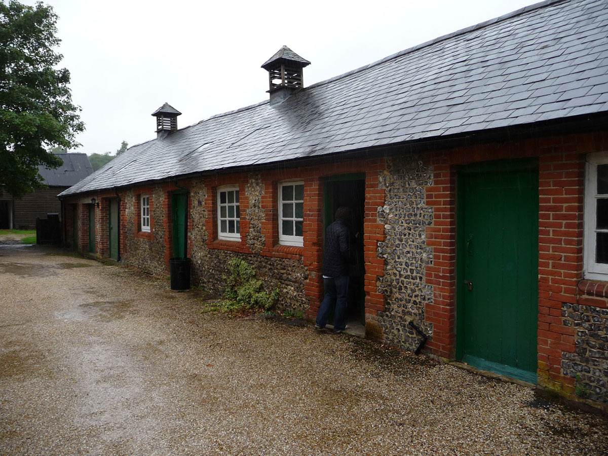 Building Before Renovation, Converted Stables in Winchester, England