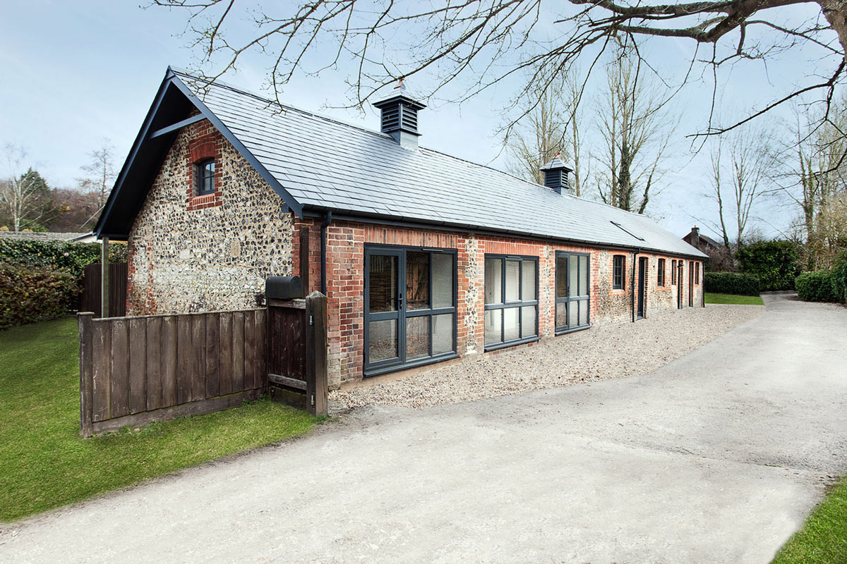 Converted Stables in Winchester, England