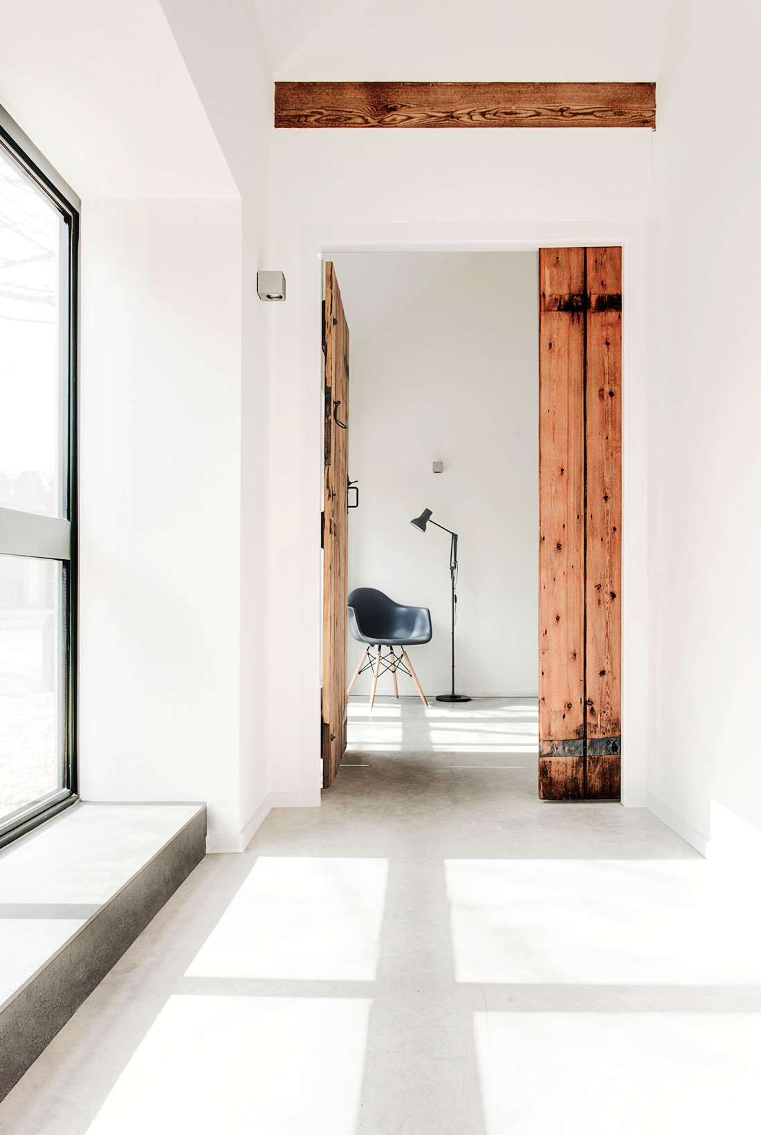Hallway, Converted Stables in Winchester, England