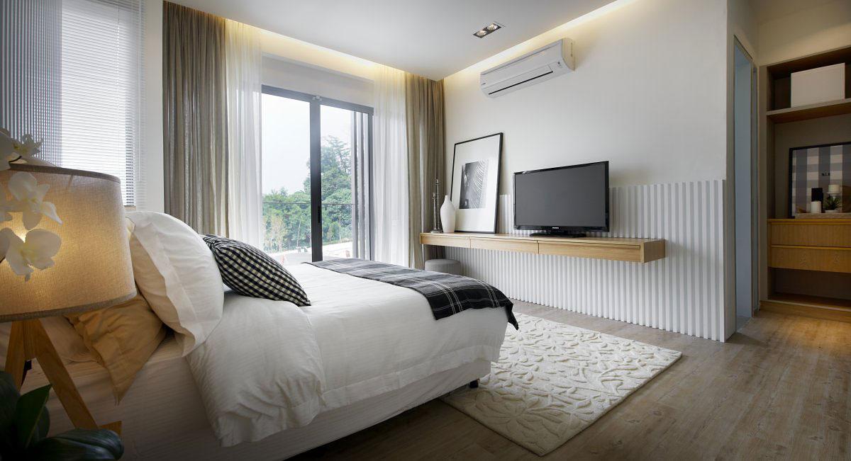 Bedroom, Modern Townhouse in Kuala Lumpur, Malaysia