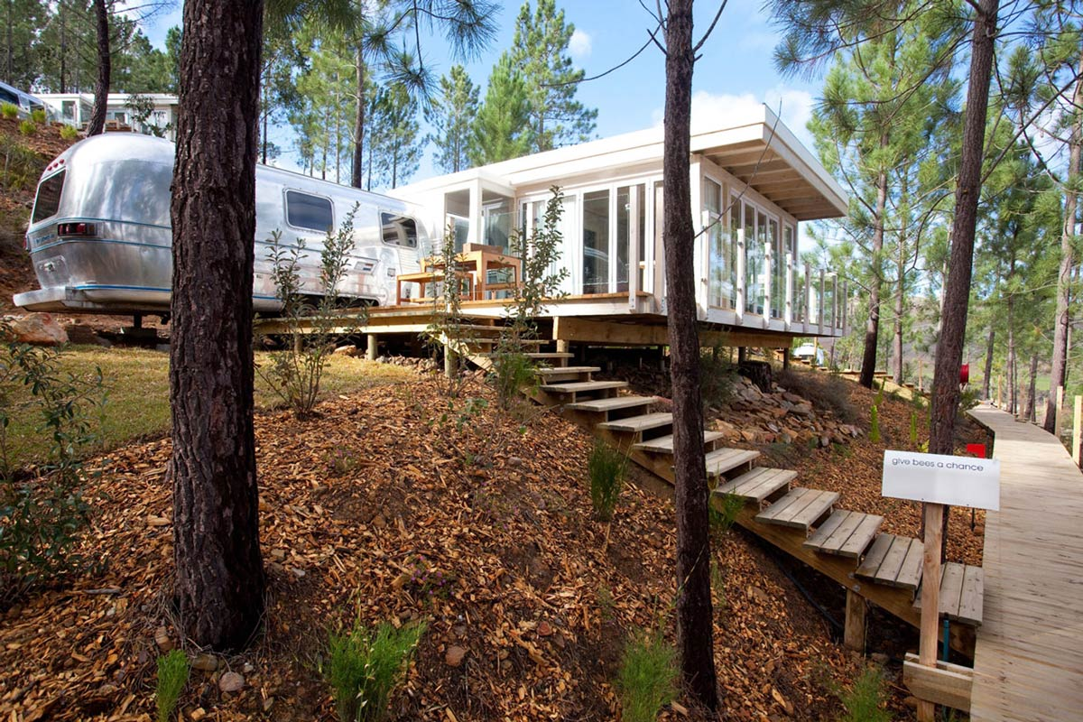 Holiday Lodge & Trailer, Old Mac Daddy, Luxury Trailer Park in South Africa