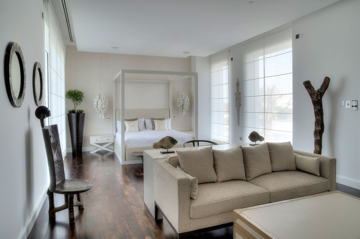 Bedroom, Sofa, The Reserve, Luxury Villas in Al Barari, Dubai
